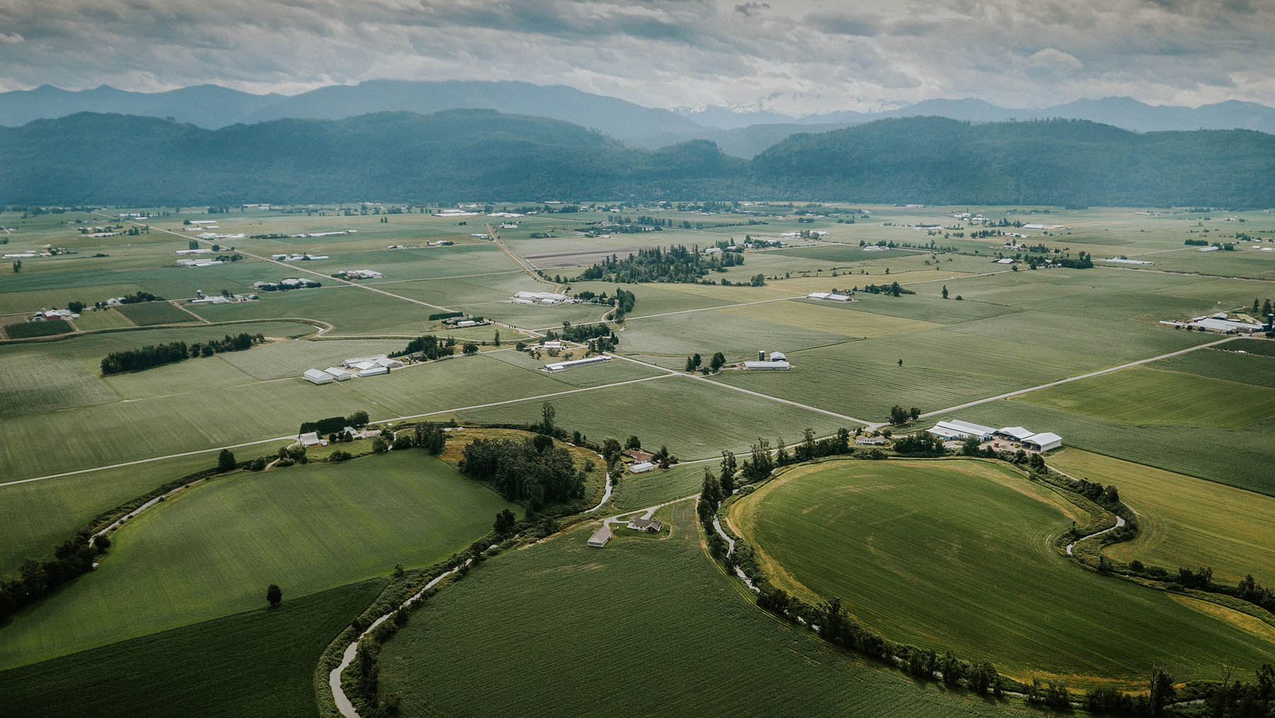 Tourism Abbotsford - Scenic shot of the beautiful farmland in Abby